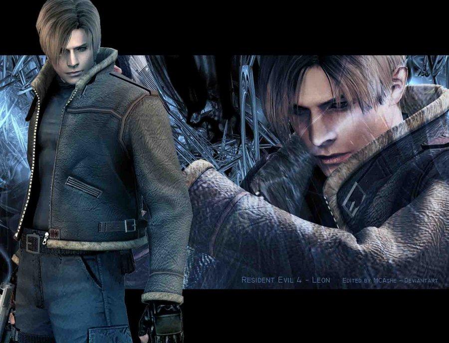 53 Resident Evil 4 Leon Wallpaper On Wallpapersafari