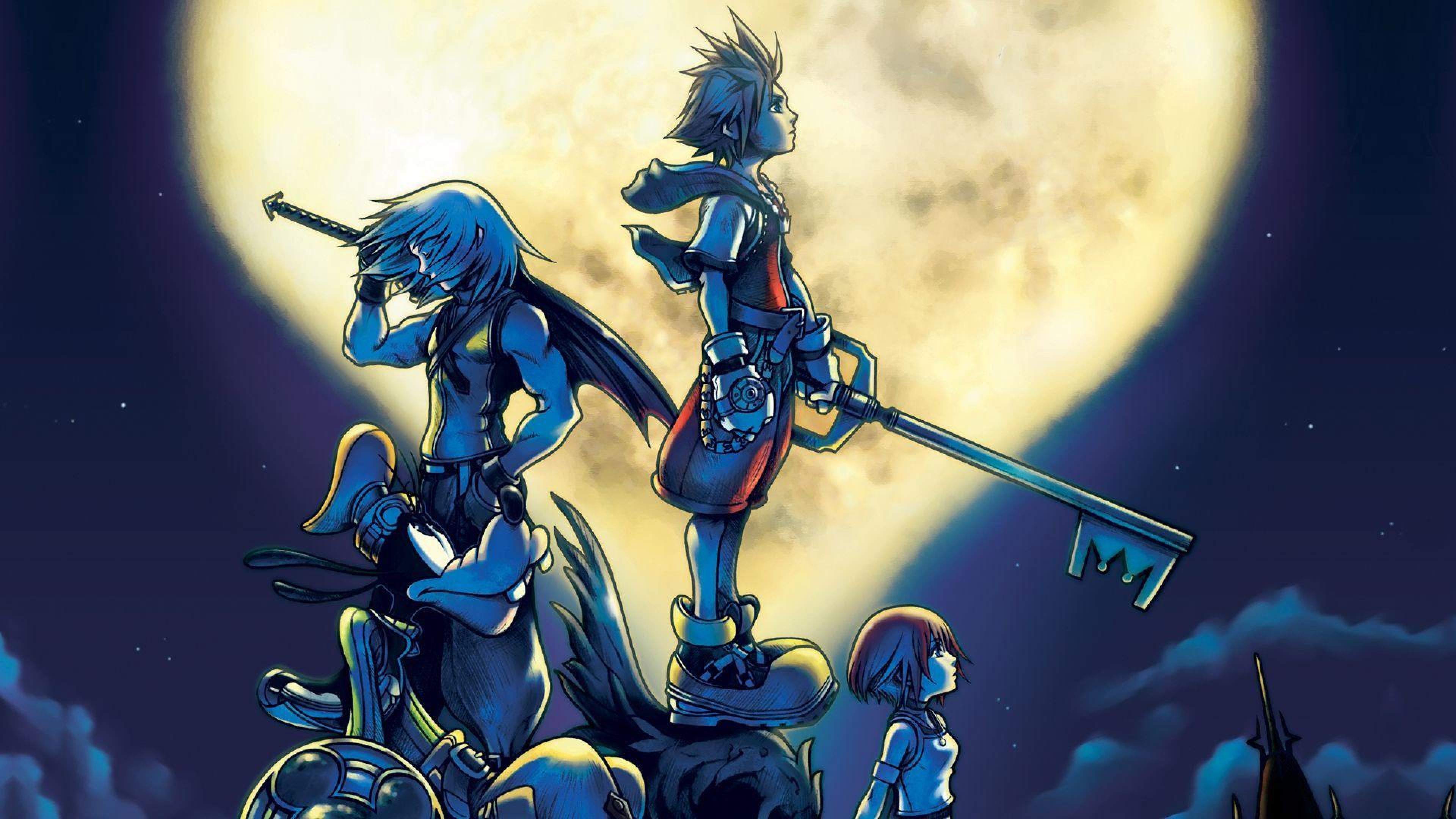 [74+] Kingdom Hearts Hd Wallpaper on WallpaperSafari