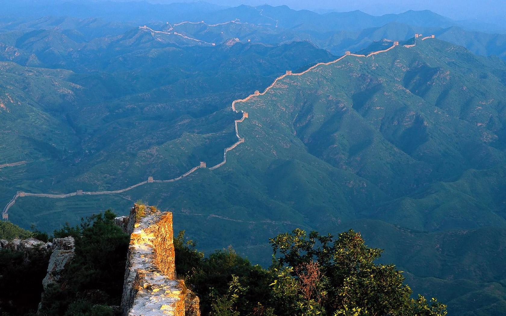 Great Wall of China Wallpaper 6792434 1680x1050