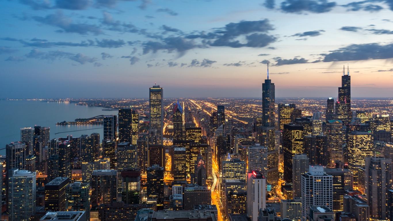 Chicago Background Hd Kecbio 1366x768