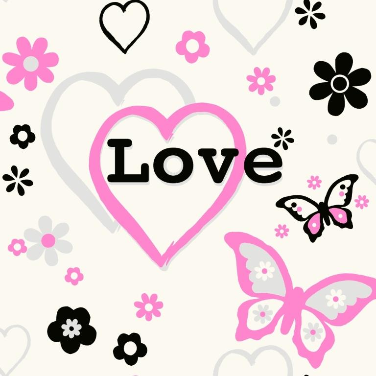 Love Wallpaper Line : Pink Love Wallpaper - WallpaperSafari