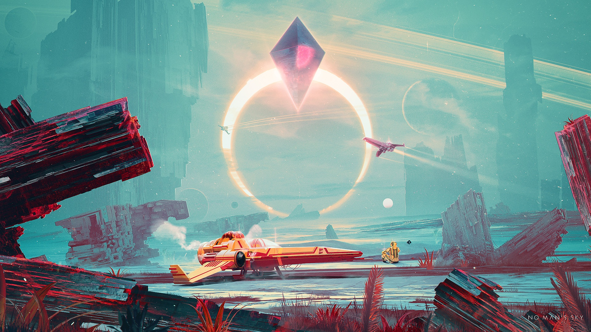 No Mans Sky Wallpapers HD Wallpapers 1920x1080