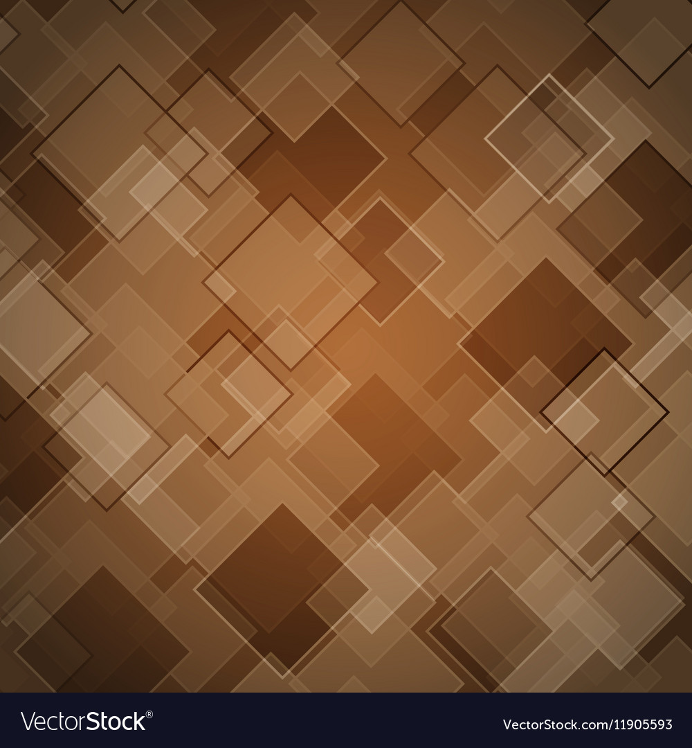 Abstract brown background with rhombus Royalty Vector 1000x1080