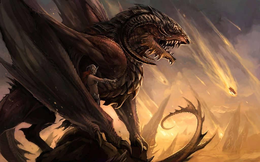 fantasy art dragon   Dragons Wallpaper 1024x640
