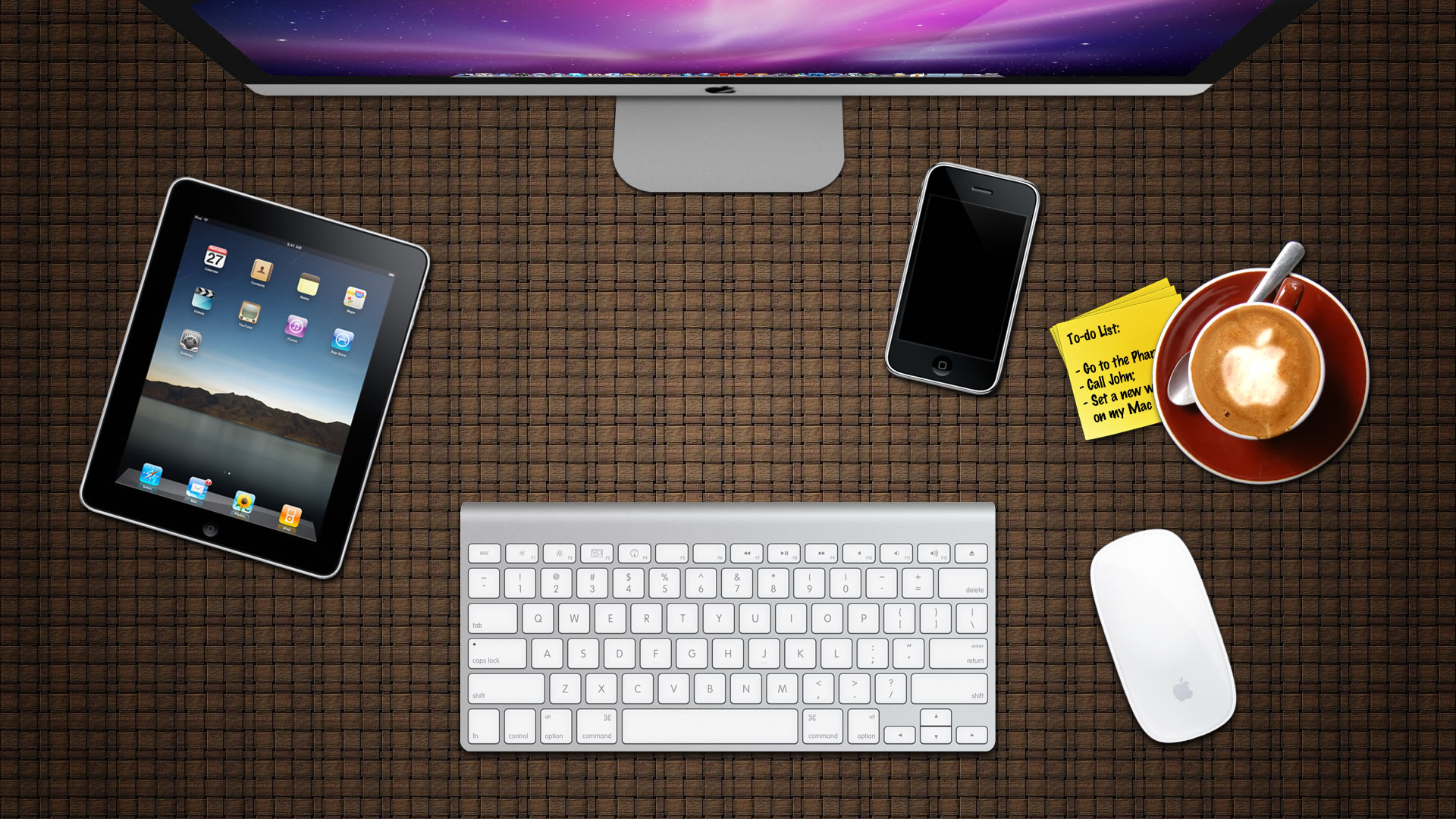 desk wallpaper wallpapersafari