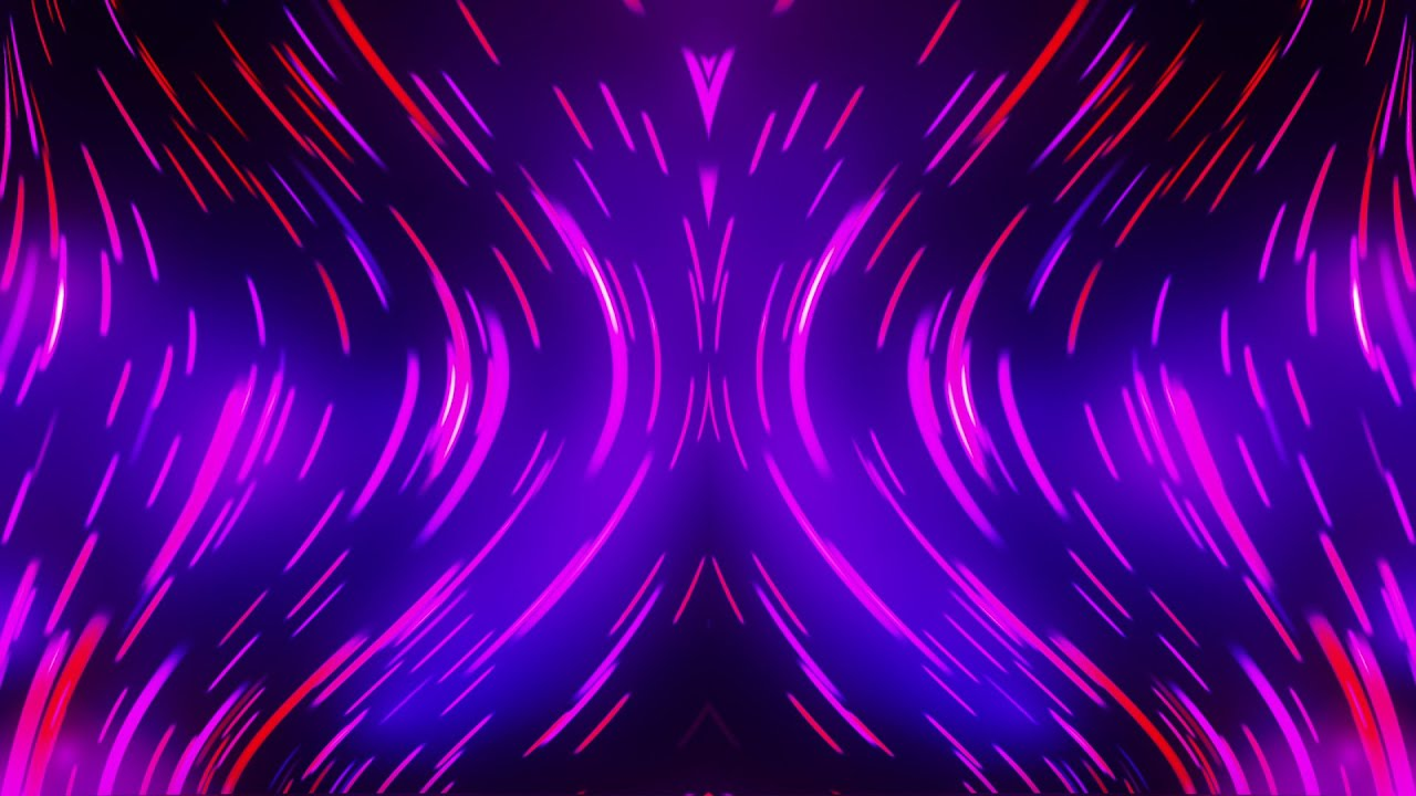 Electro Hourglass   HD Video Background Loop 1280x720