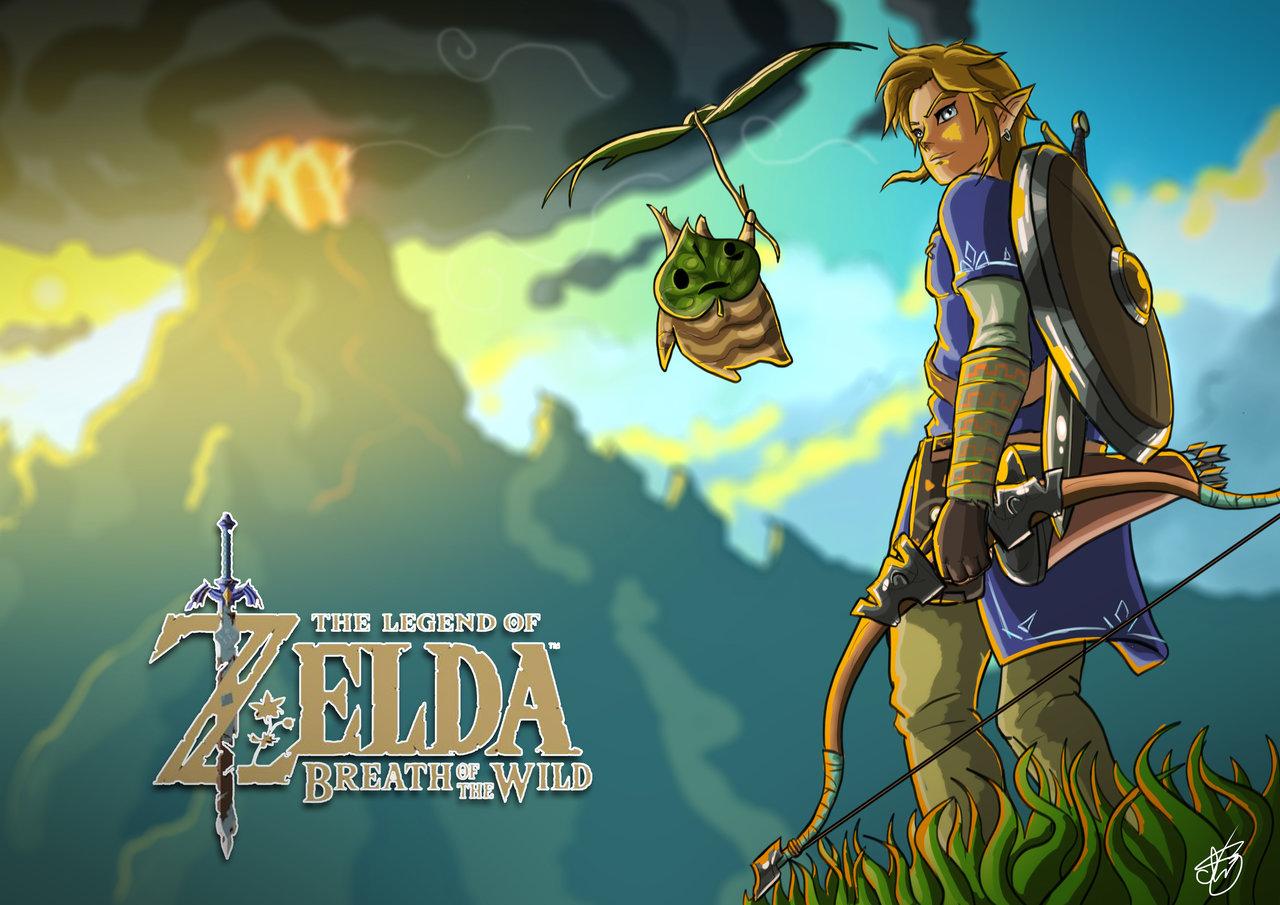 Free Download Zelda Breath Of The Wild Hd Wallpaper 60 Image