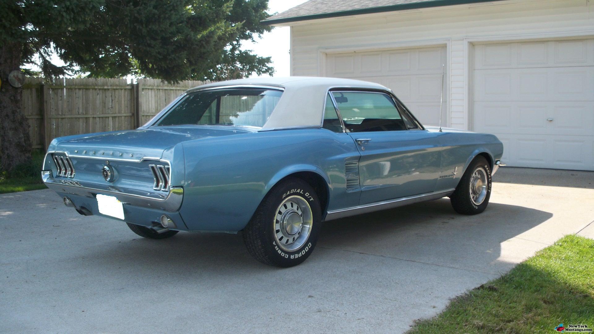 67 Mustang Coupe Wallpaper Wallpapersafari