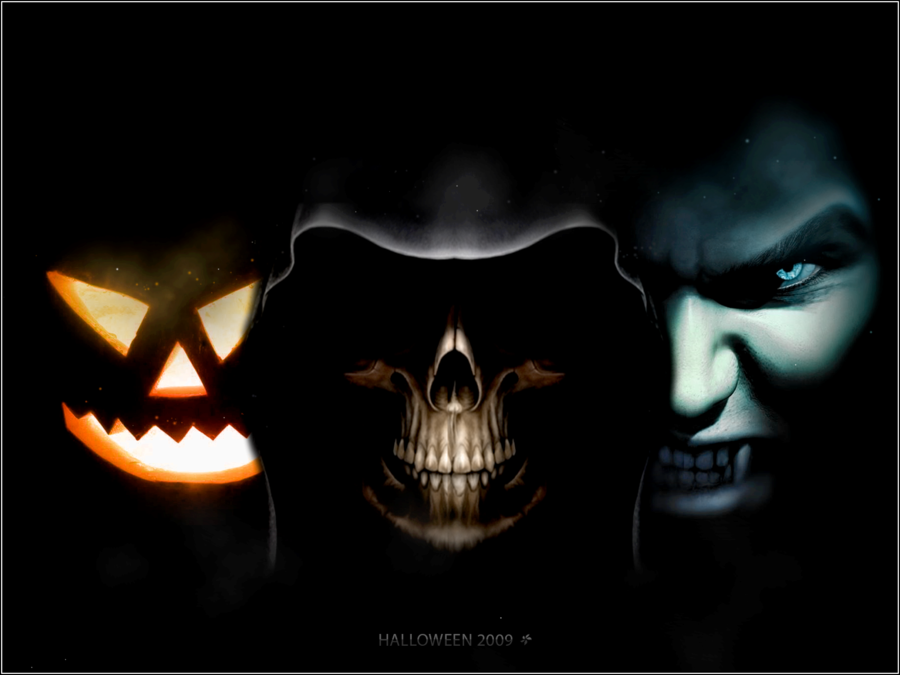 3d halloween wallpaper Animated Halloween Wallpaper 900x675