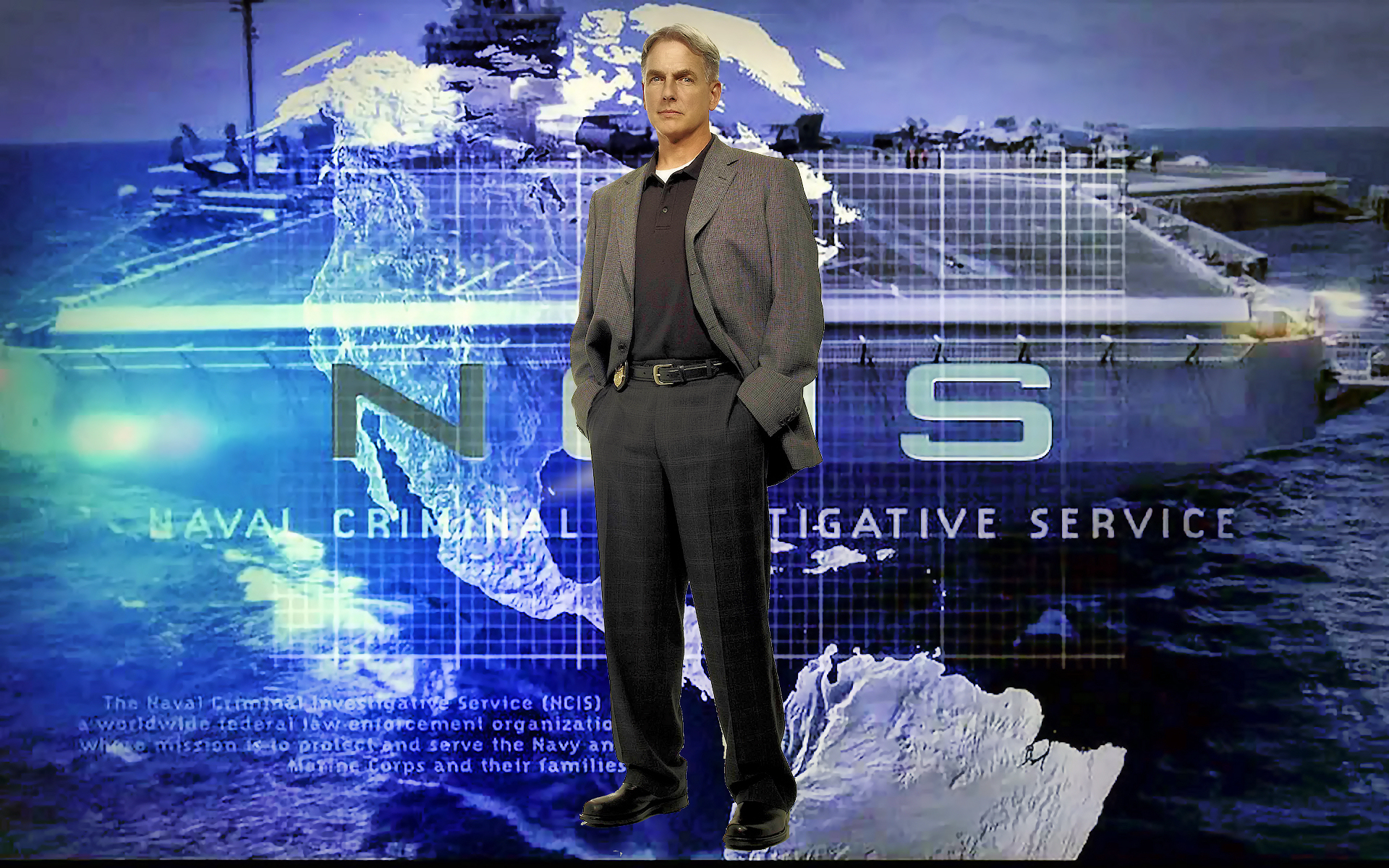 NCIS Logo Wallpaper   HD Wallpapers Backgrounds of Your Choice 1920x1200