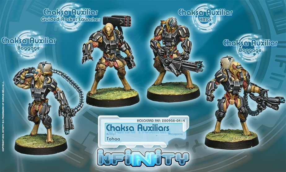 Infinity Tohaa Chaksa Auxiliars BOX 4 Infinity the Board Game 923x555