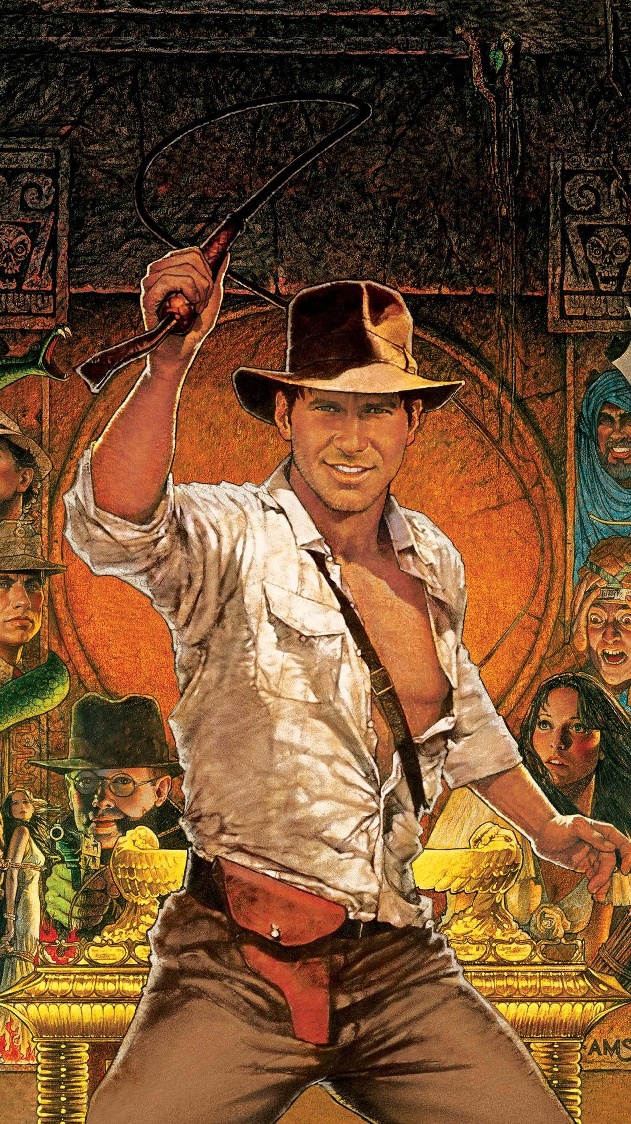 Raiders of the Lost Ark 1981 Phone Wallpaper in 2019 Indiana 1276x2270