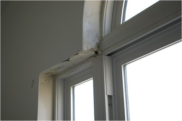 Sheetrock Repair Removal of existing wallpaper Minor Carpentry 600x399