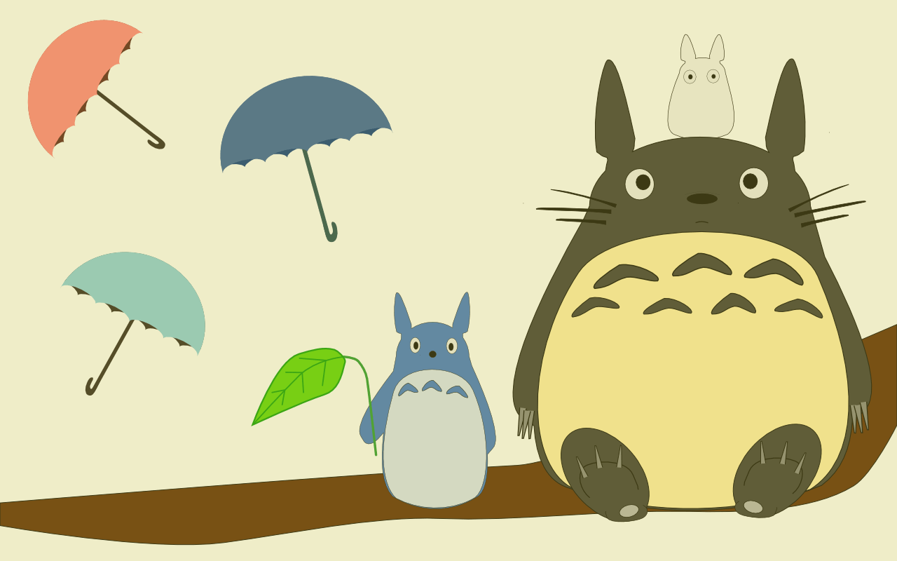 Totoro Backgrounds - WallpaperSafari