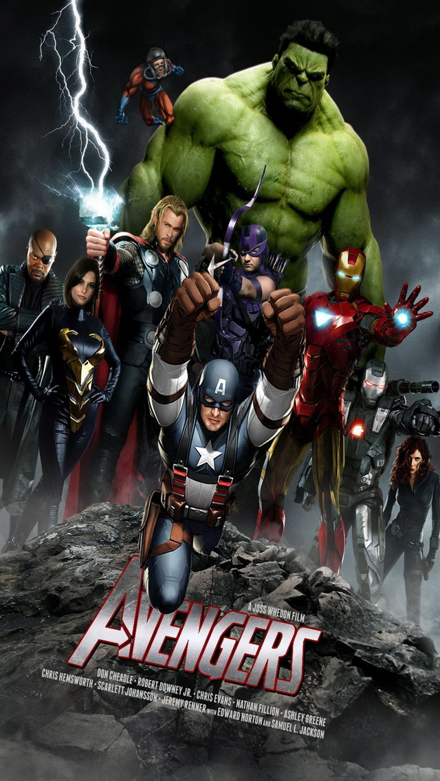The Avengers iPhone 5 Wallpapers 6401136 3 Wallpapers Photo 640x1136