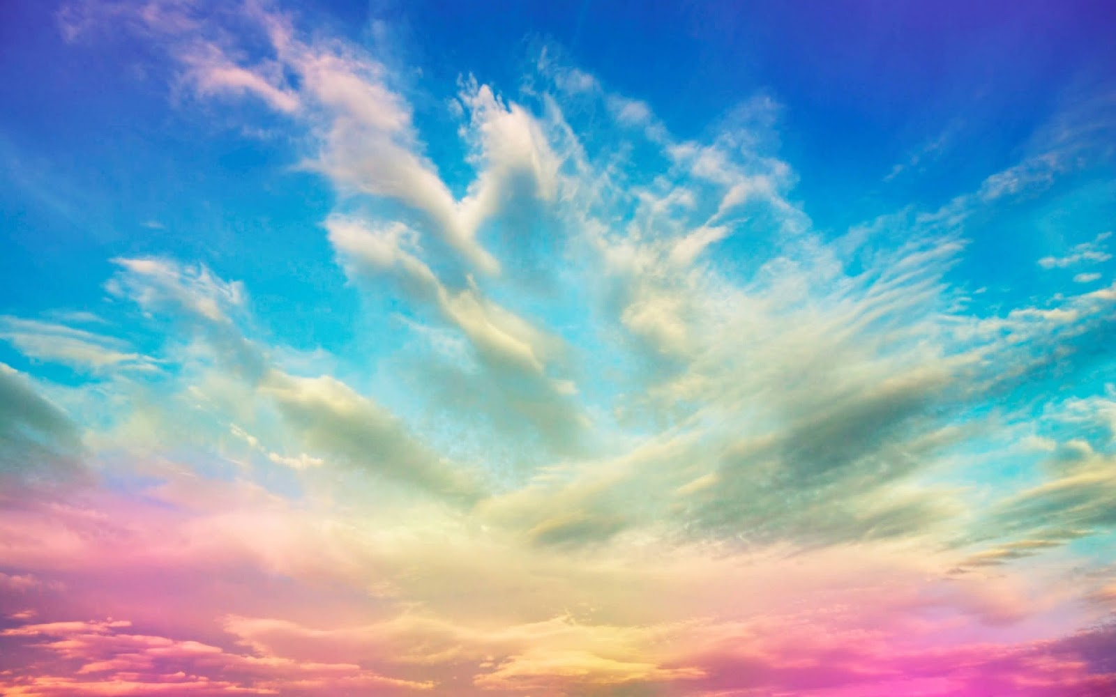 hd wallpapers for desktop sky cloud wallpapers hd 1600x1000