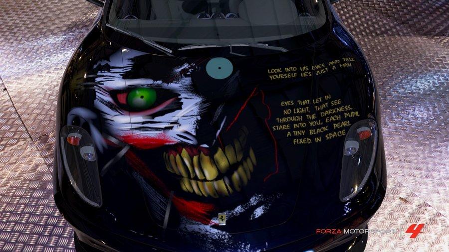 New 52 Joker Wallpaper Forza 4 New 52 Joker F430 4 by 900x506
