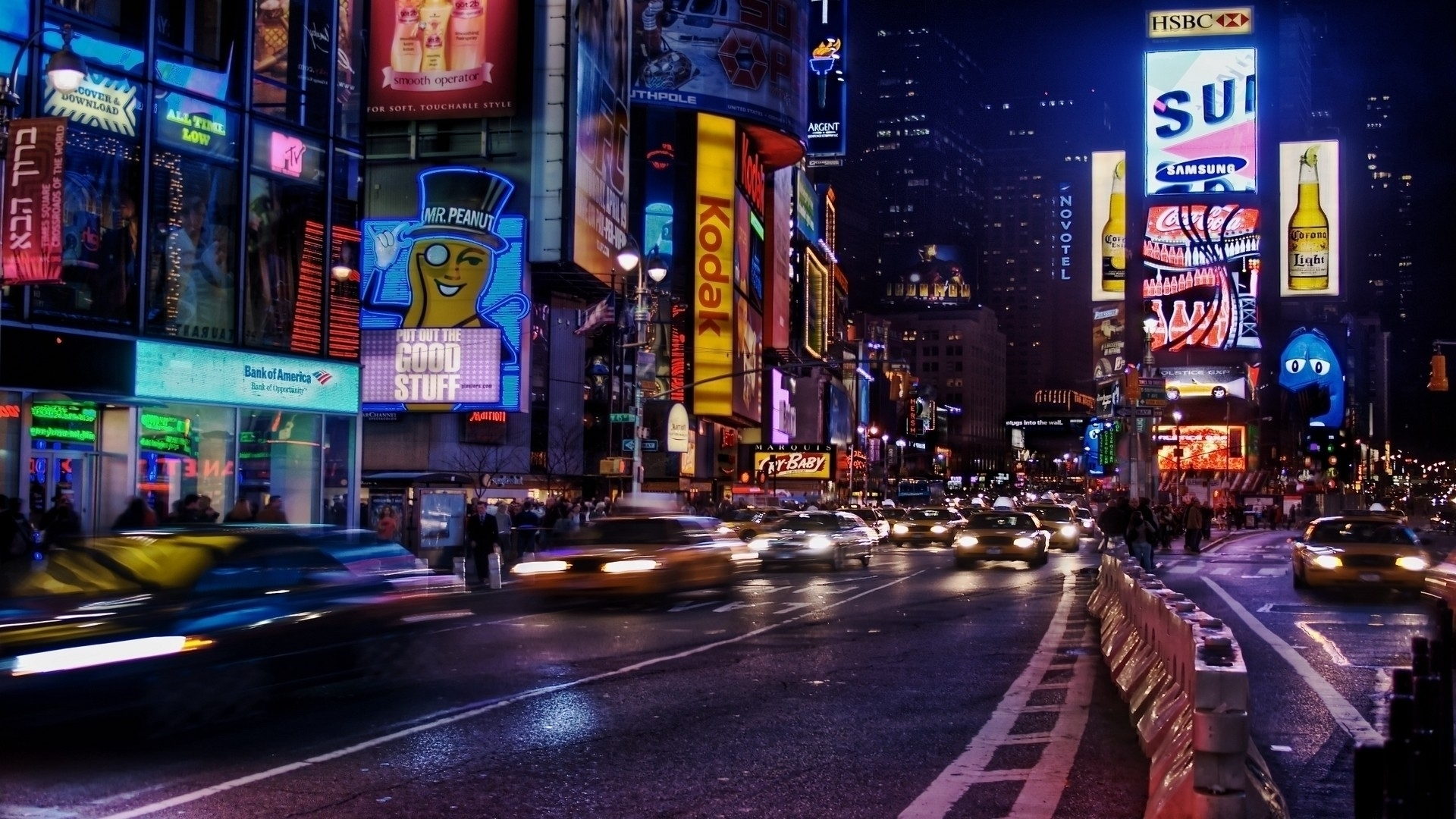 Street Wallpaper HD Night City - WallpaperSafari