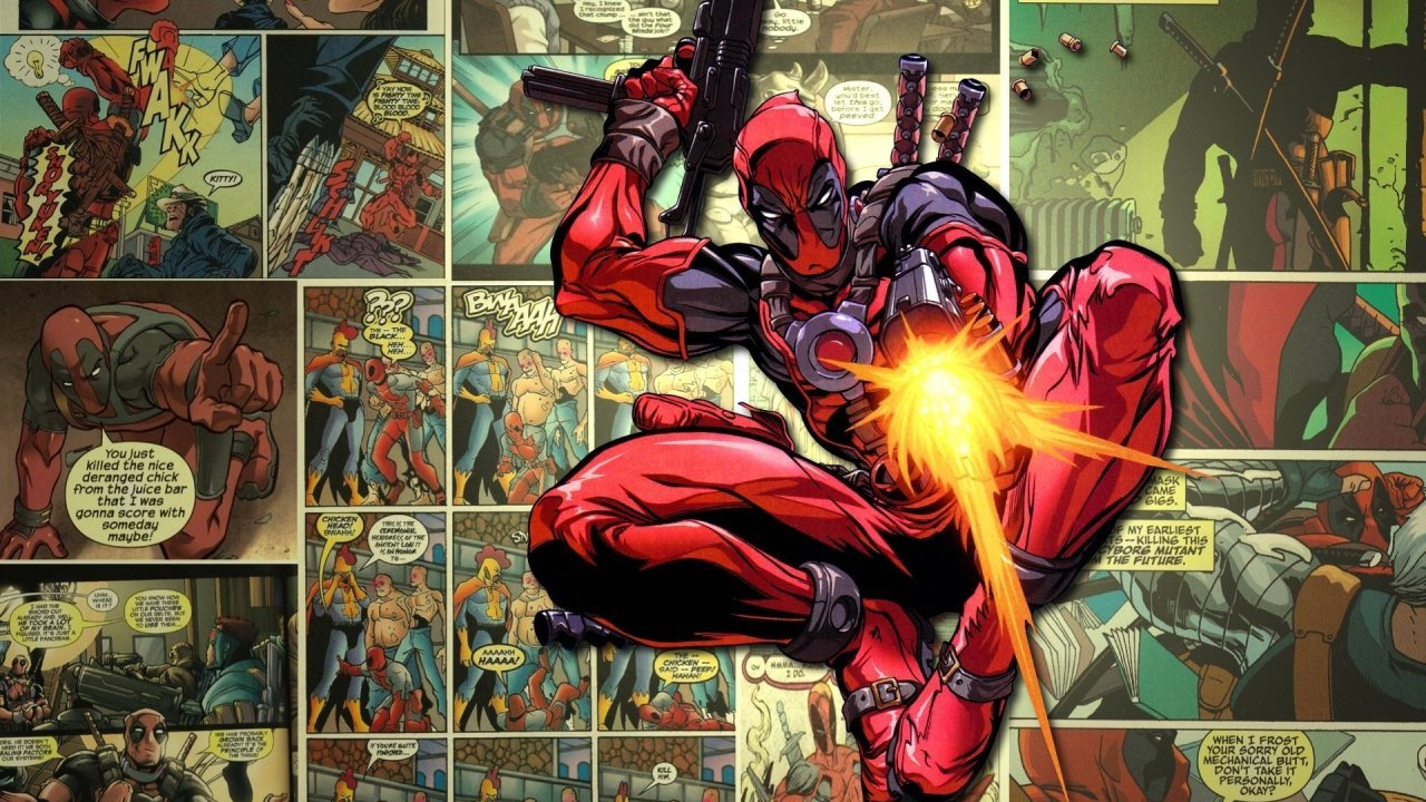 Wallpaper Deadpool 1280x720