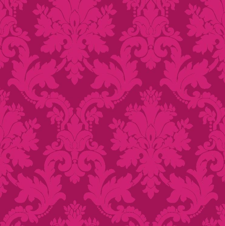 Details about Byron Pink Damask Wallpaper   SAMPLE 742x744