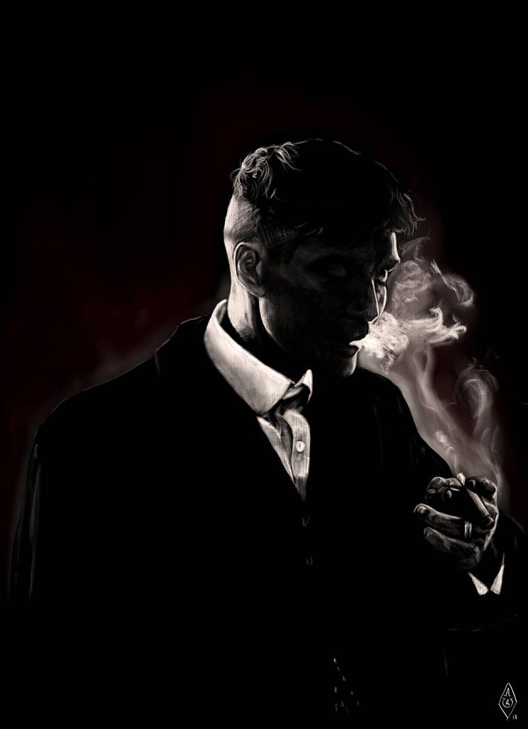 Thomas Shelby from Peaky Blinders by Bilou020285 Papel de parede 761x1051