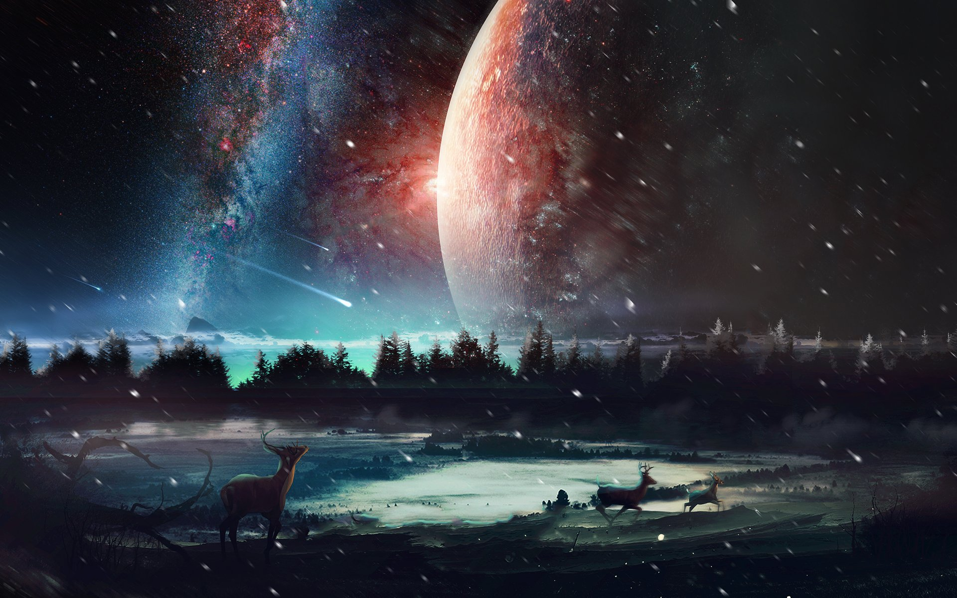 Universe Scenery Wallpapers HD Wallpapers 1920x1200