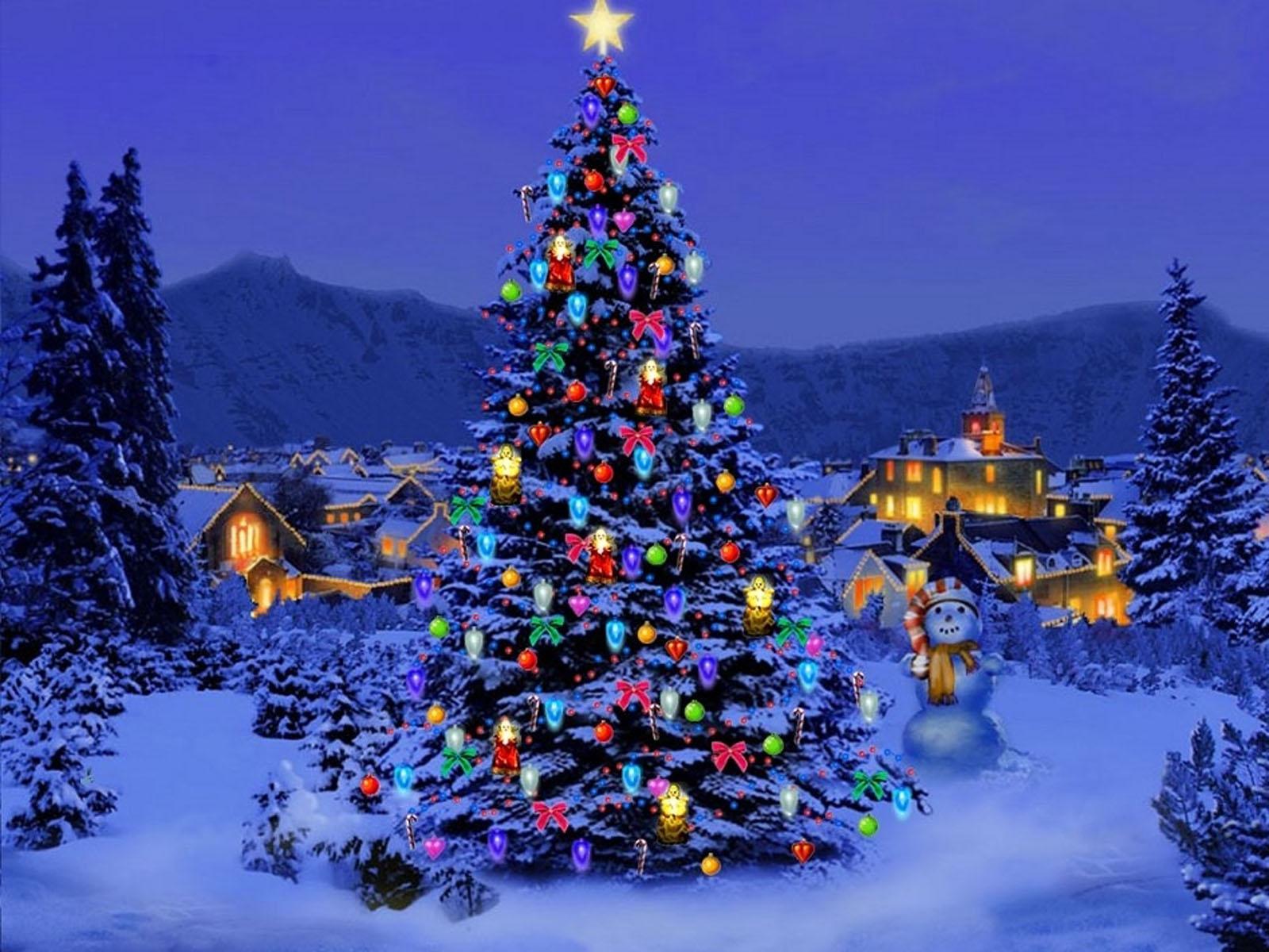 Christmas Tree Background Wallpaper - WallpaperSafari