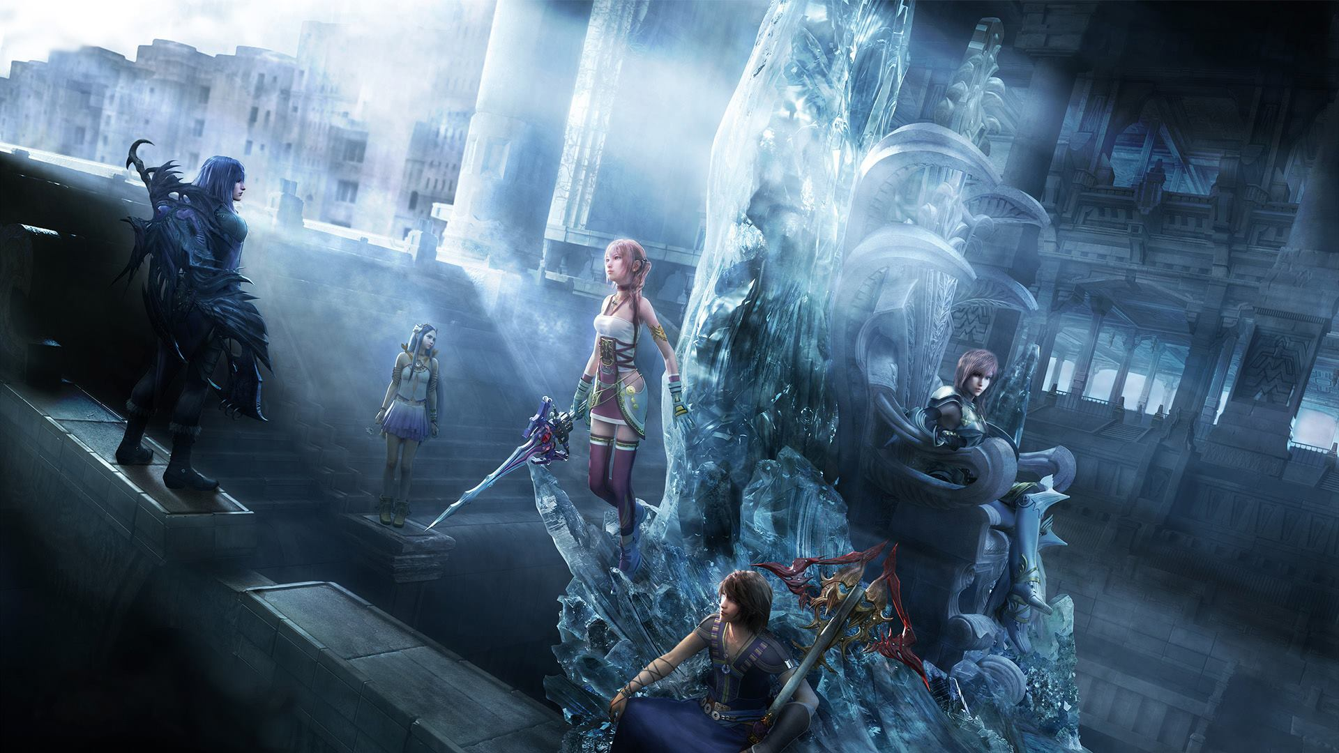 final fantasy wallpaper Final Fantasy Lightning And Serah 1920x1080