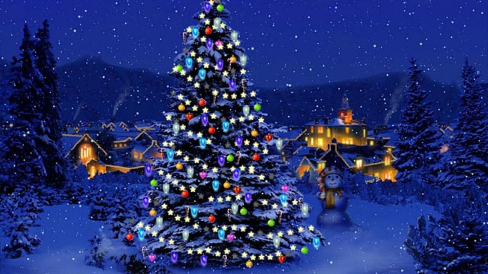 christmas wallpaper 1600x900 widescreen