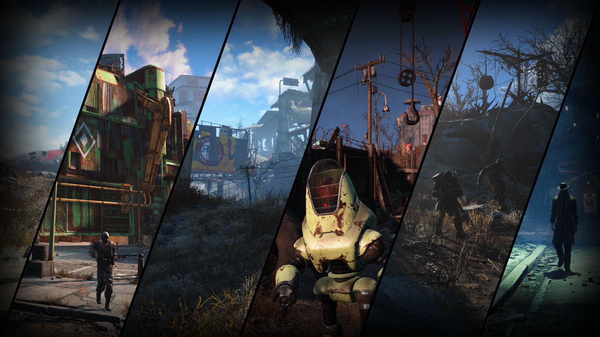 fallout 4 screens wallpaper desktop background