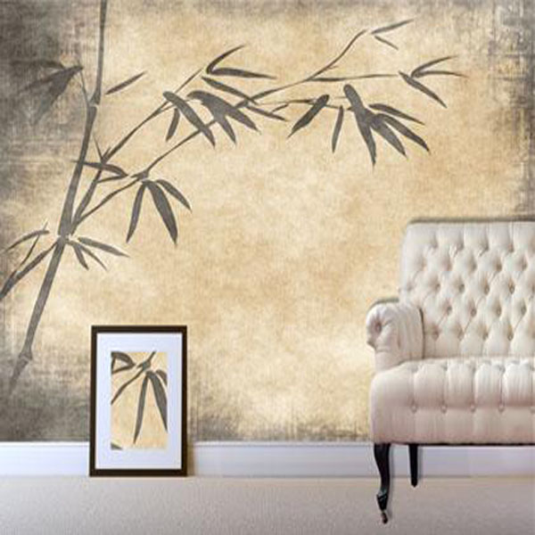 Digetex Oriental Digetex Oriental Parchment Bamboo Wallpaper 600x600