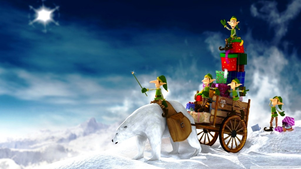 3D Christmas Wallpaper HD HD Wallpapers Backgrounds Photos 1024x576