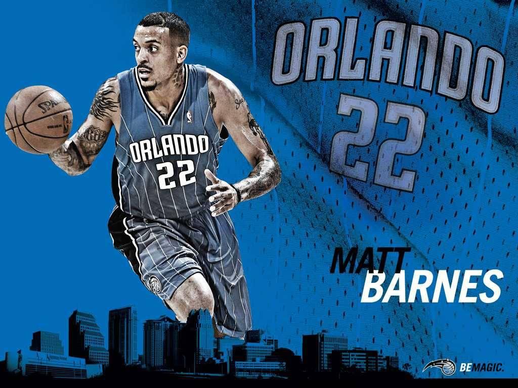 NBA Magic Matt Barnes Wallpaper - Orlando Magic Wallpaper