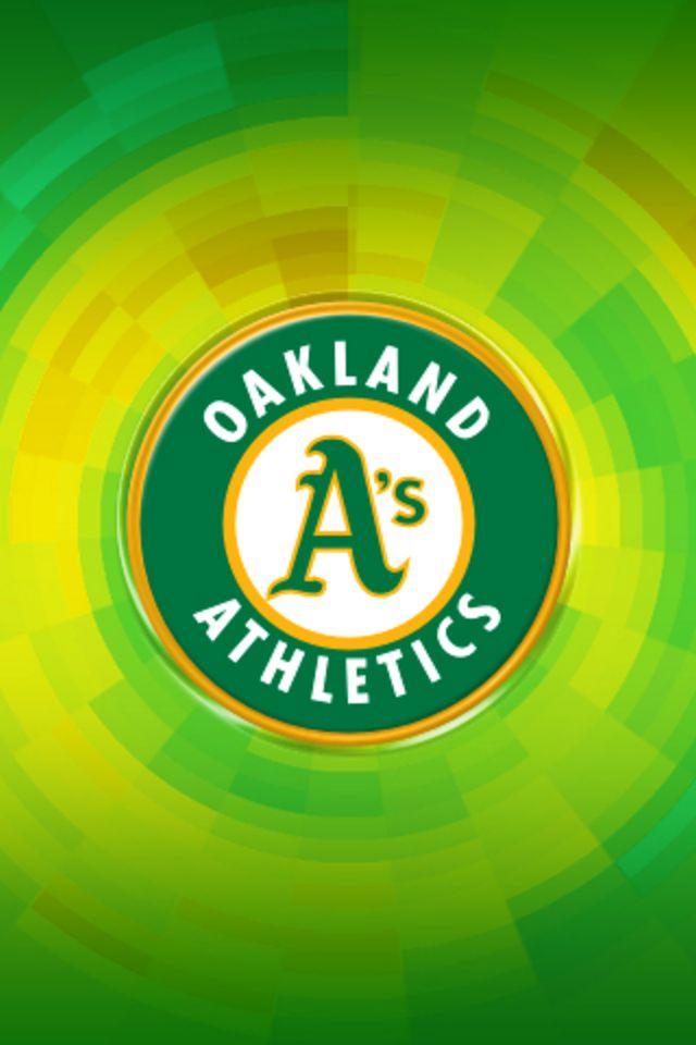 Oakland Athletics iPhone Wallpaper HD 640x960