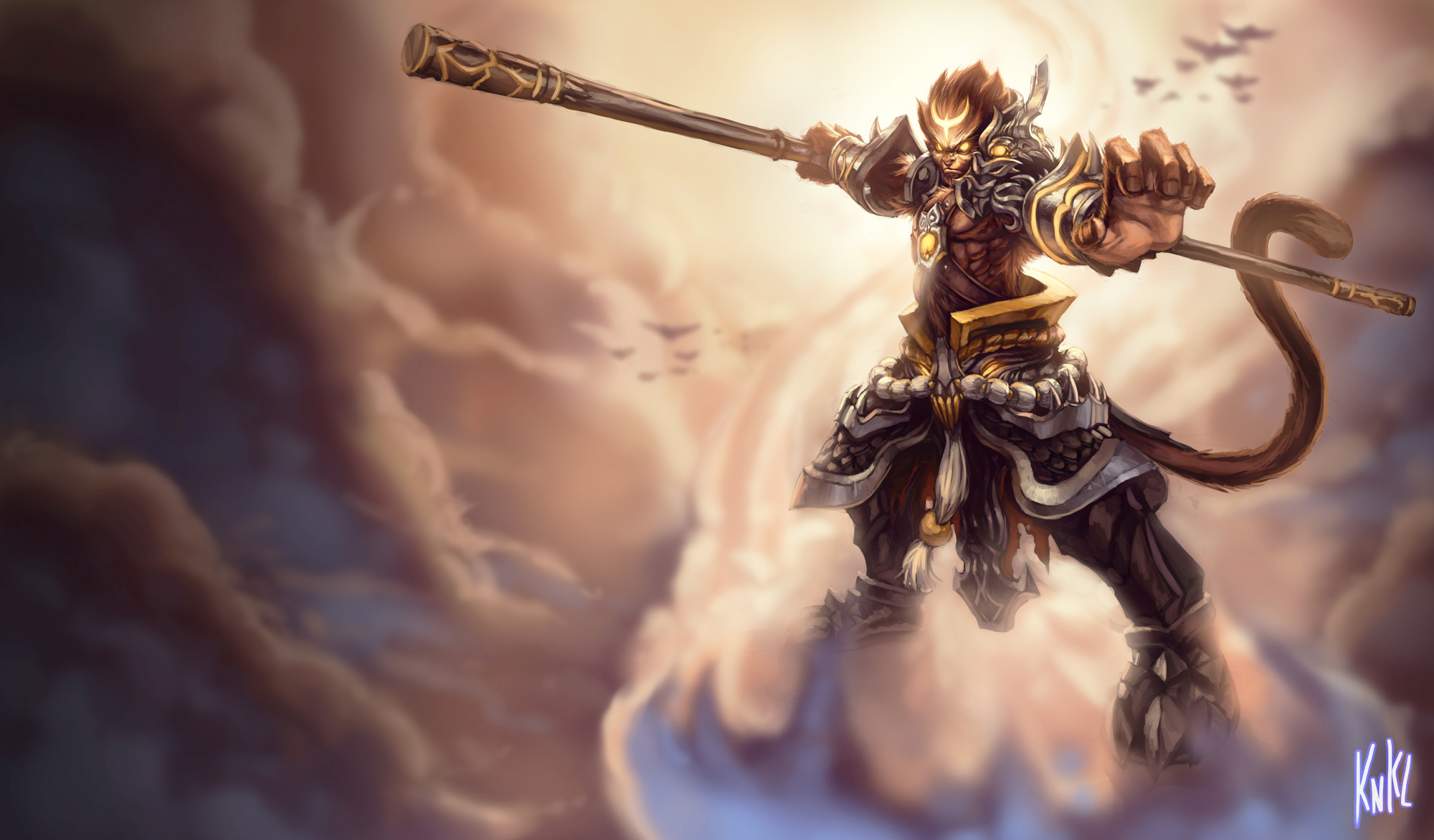 LoL   General Wukong by Knockwurst 2000x1172