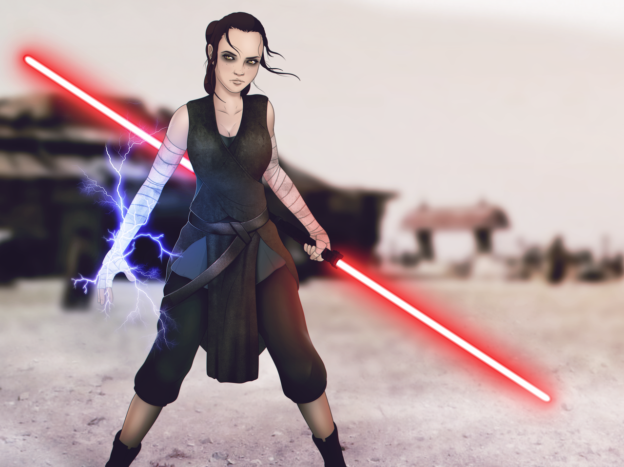 Rey sith   Star Wars by StanEKB 1280x958