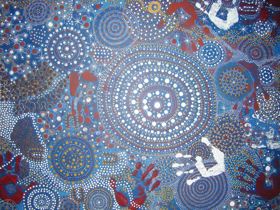 Aboriginal Painting by pie lord 900x675