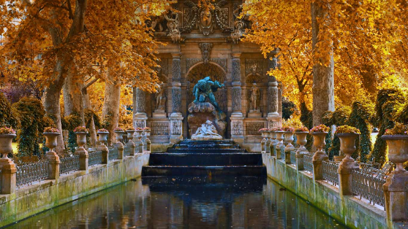 Luxembourg Palace Wallpapers and Background Images   stmednet 1366x768