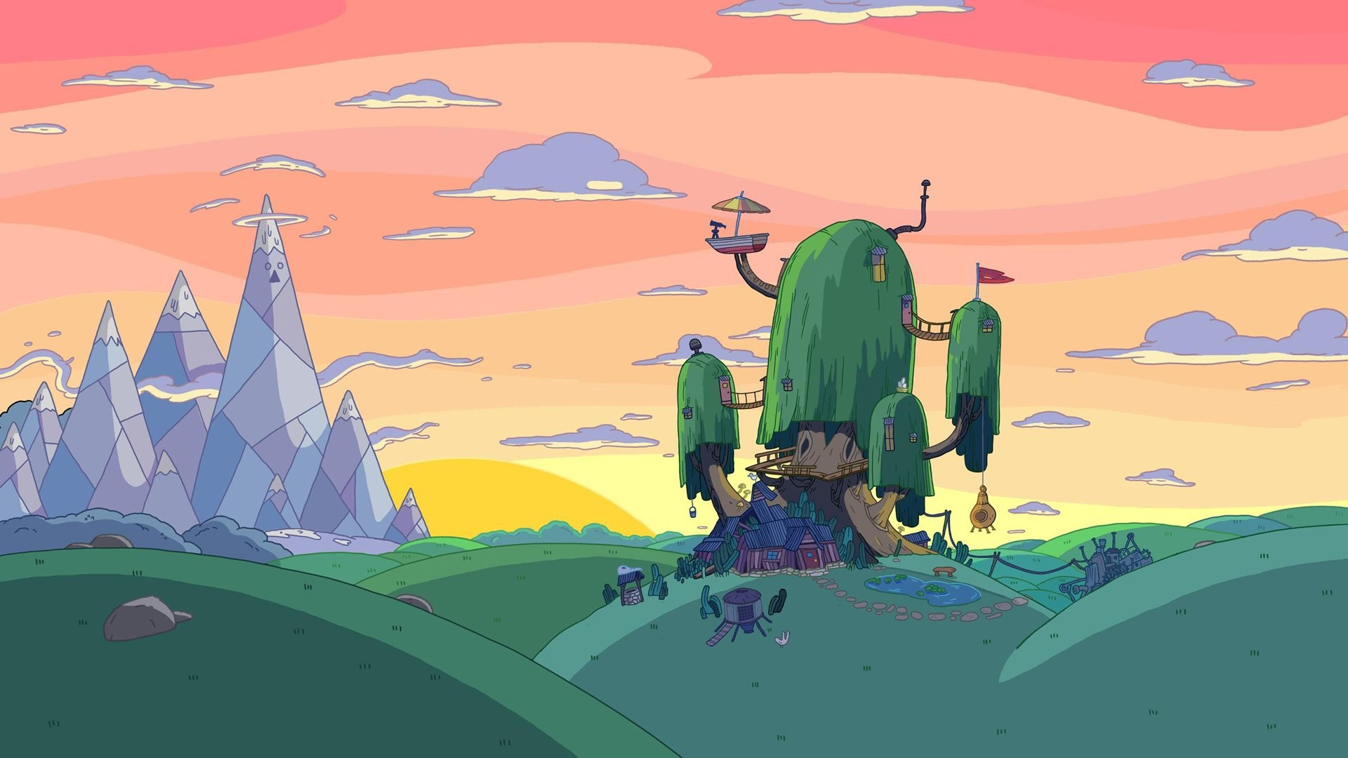 Adventure Time Backgrounds 69 images 1920x1080