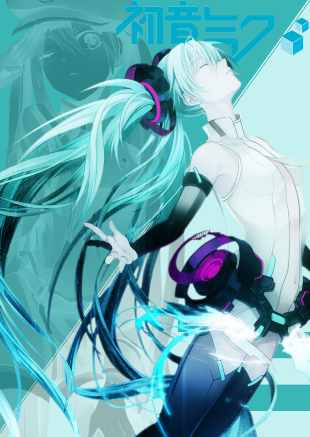 Hatsune Miku Phone Wallpaper - WallpaperSafari