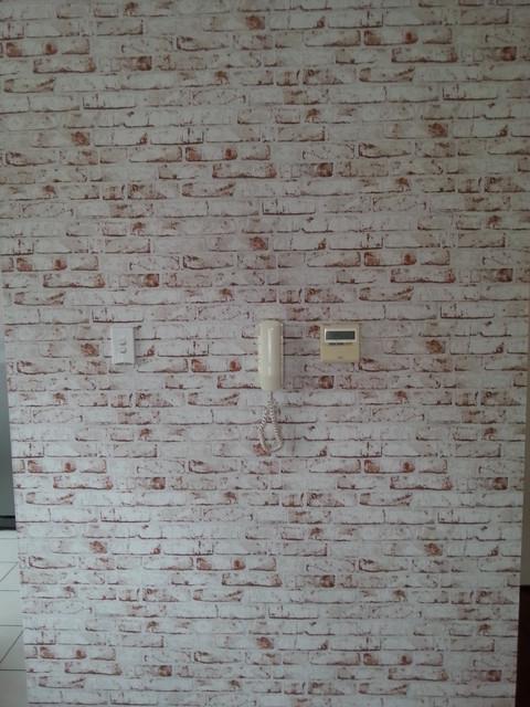 Red Faux Brick Wallpaper   Wallpaper   sydney   by Sydney Wallpapering 480x640