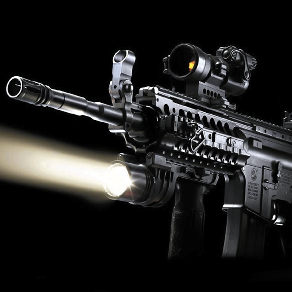 Cool Gun Wallpapers HD 1024x1024