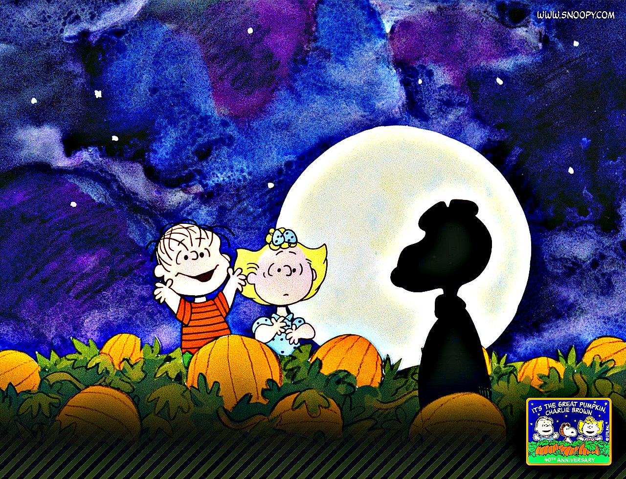 76 Peanuts Halloween Wallpaper On Wallpapersafari