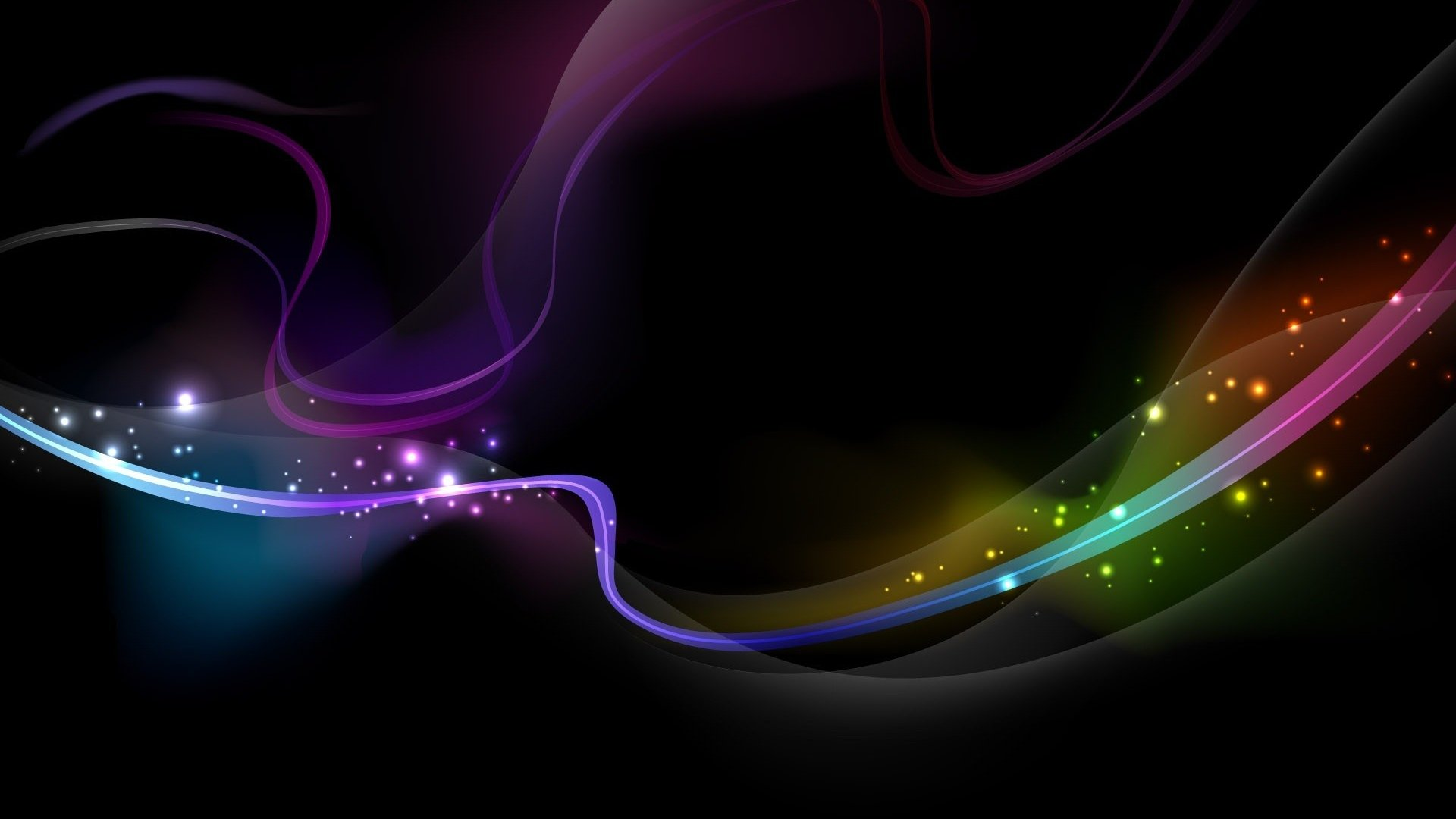 Download Wallpaper 1920x1080 wavy background shadow colored Full HD 1920x1080