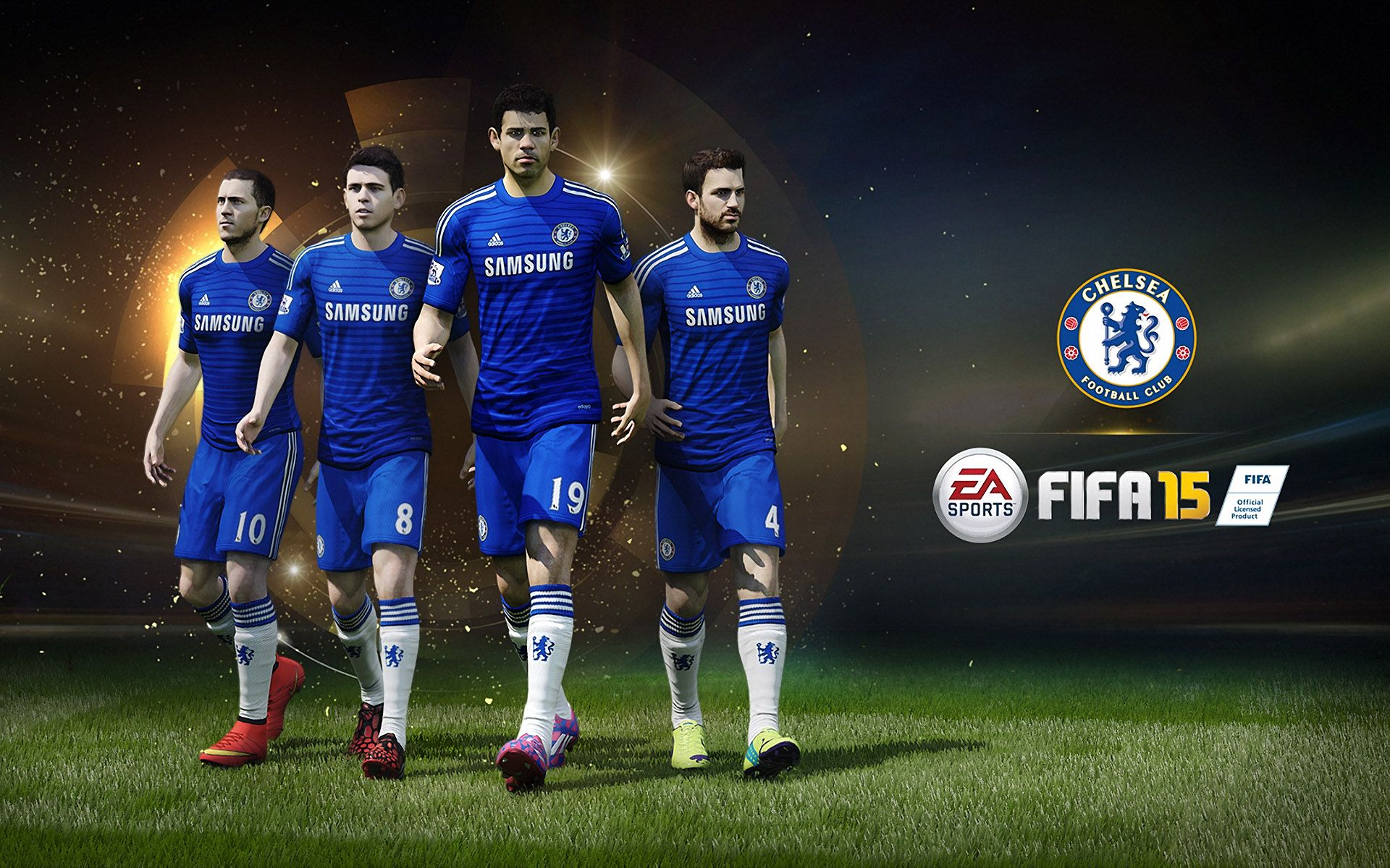 FIFA 15 Chelsea FC Poster Wallpaper Wide or HD Games Wallpapers 1920x1200