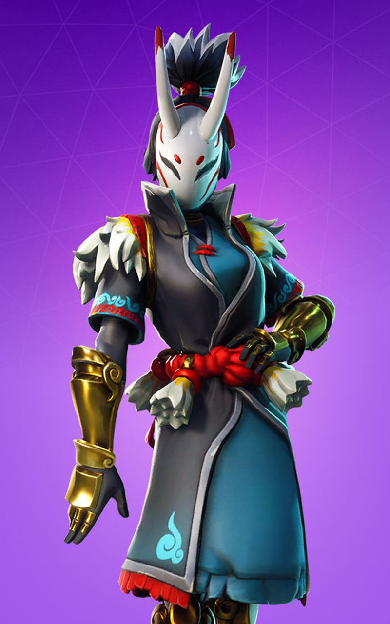 nara skin Fortnite Battle Royale Wallpaper Fortnite Battle 800x1280