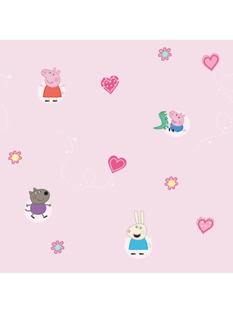 Details about PEPPA PIG WALLPAPER 10m NEW WALL DECOR GIFT 769x1024