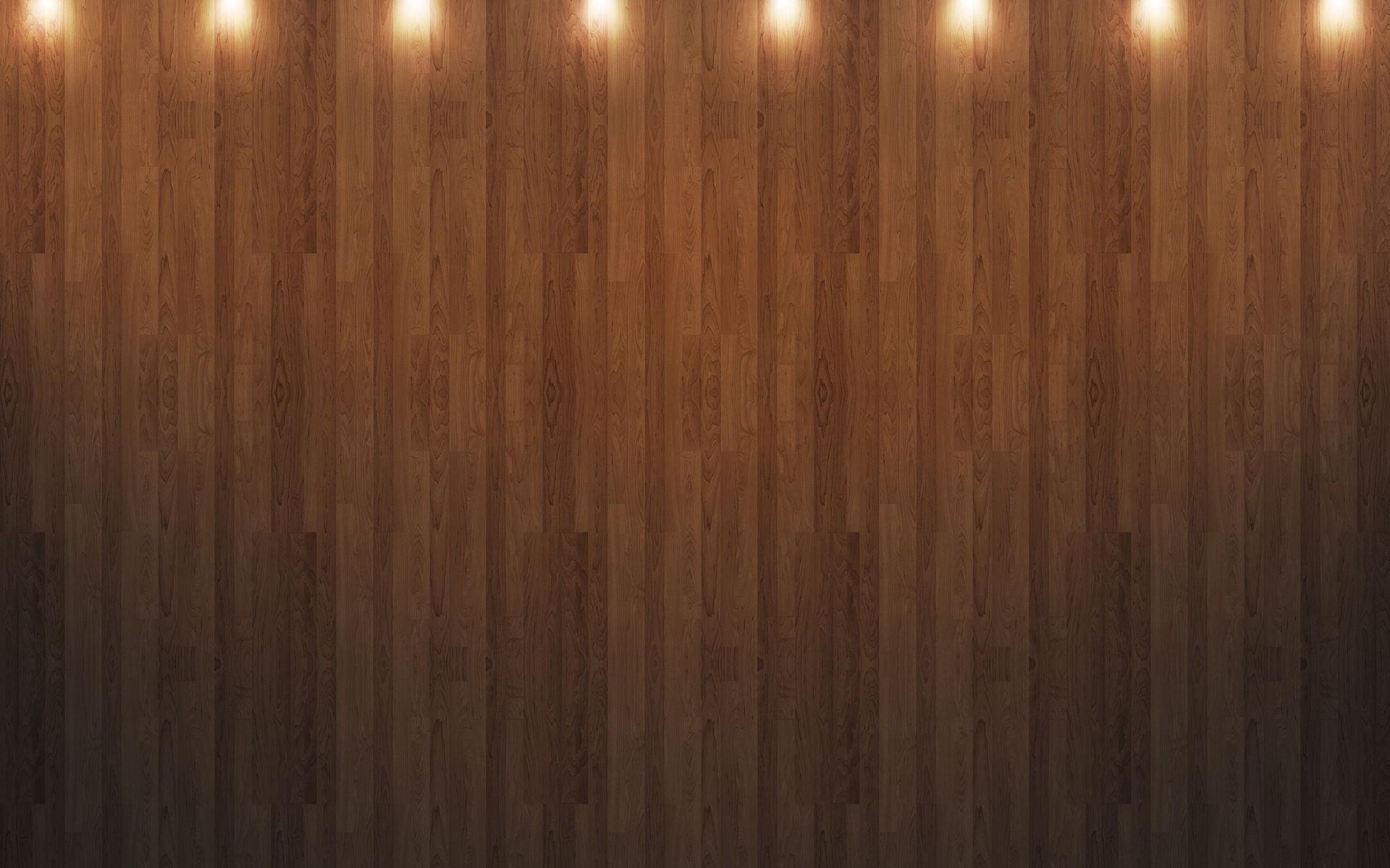 Wood floor with lights Wallpaper 5312 1920x1200