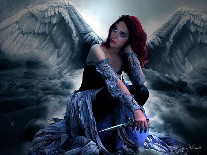 Dark Fairies And Angels Wallpaper gothic angel wallpaper ...