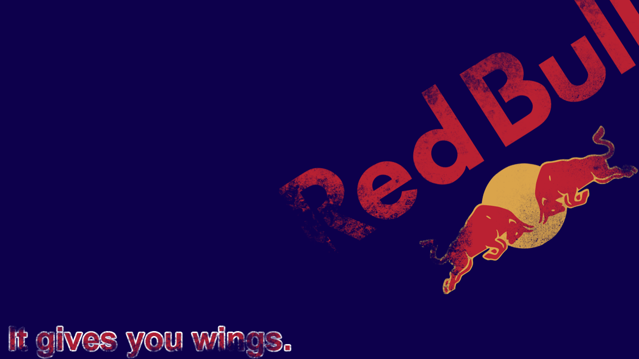 Red Bull Logo Wallpapers 1280x720
